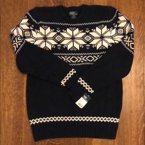Polo by Ralph Lauren Youth Sweater NWT